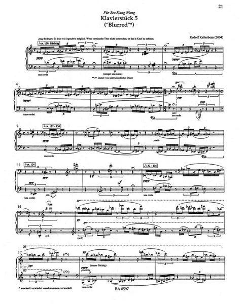 Klavierstück Twilight