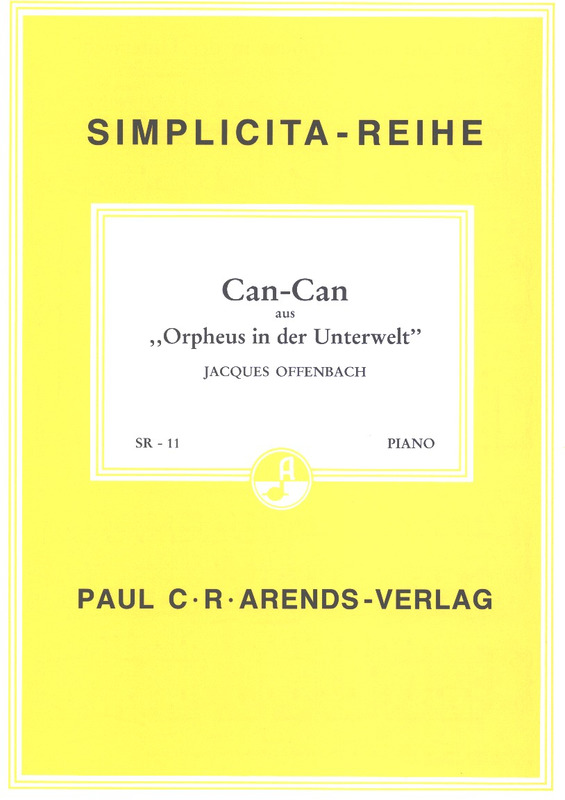 Jacques Offenbach: Can Can (Orpheus In Der Unterwelt)