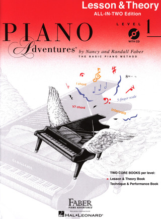 Randall Faber et al.: Piano Adventures 1 – Lesson & Theory