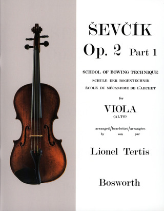 Otakar Ševčík: School of Bowing Technique  op. 2/1