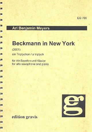 Meyers Ari Benjamin: Beckmann In New York