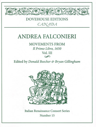 Falconieri Andrea: Movements (Il Primo Libro Vol 3)