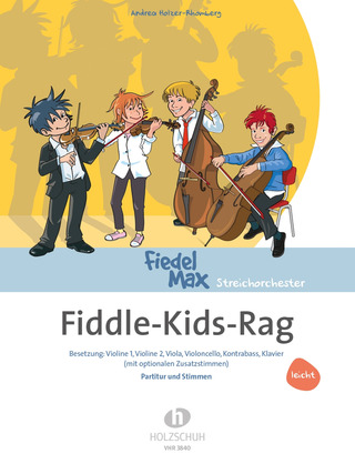 Andrea Holzer-Rhomberg: Fiedel-Max -Fiddle-Kids-Rag (leicht)