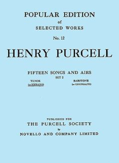 Henry Purcell: Fifteen Songs and Airs 2