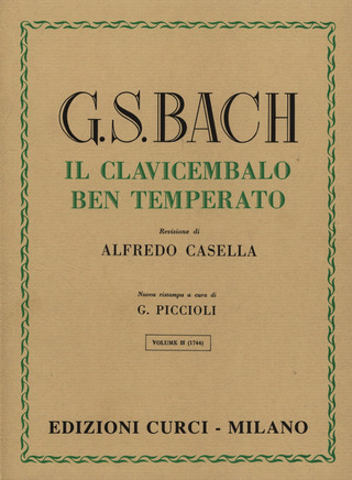 Johann Sebastian Bach: The Well-Tempered Clavier 2