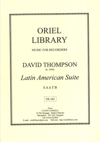 Thompson David: Latin American Suite