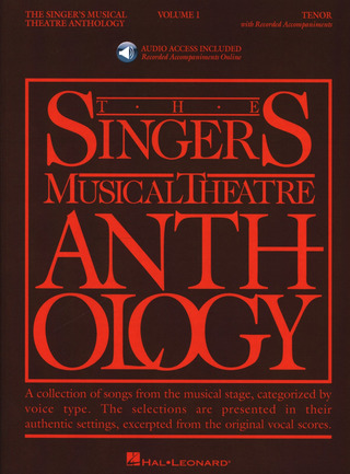The Singer's Musical Theatre Anthology 1 – Tenor