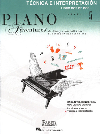 Nancy Faber et al.: Piano adventures 5 – Técnica e interpretación
