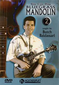 Baldassari Butch: You Can Play Bluegrass Mandolin Volume 2 (Baldassari B) Dvd
