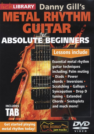 Danny Gill: Danny Gill's Metal Rhythm Guitar For Absolute Beginners