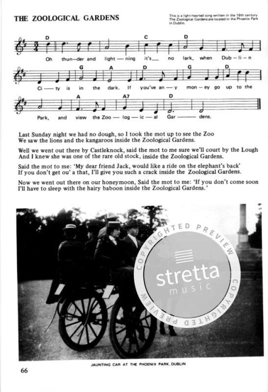 100 Irish Ballads Vol  1 MLC | buy now in Stretta sheet