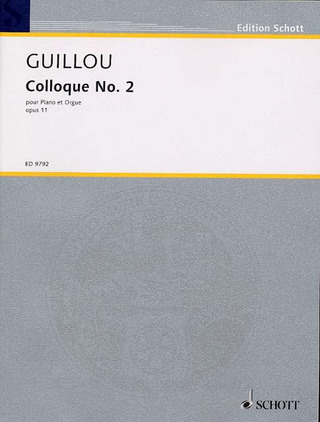 Jean Guillou: Colloque No. 2 op. 11 (1964)