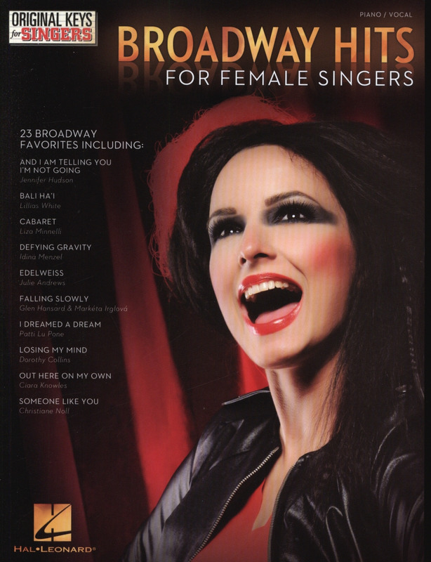 Broadway Hits For Female Singers