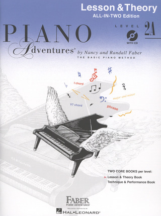 Randall Faber et al.: Piano Adventures 2A – Lesson & Theory