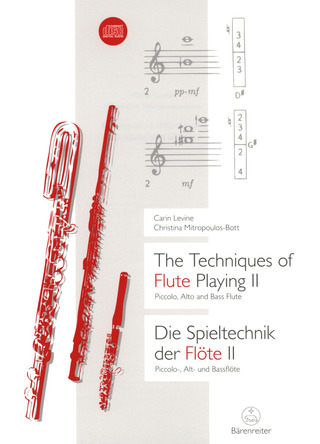 Carin Levine y otros.: The Techniques of Flute Playing II