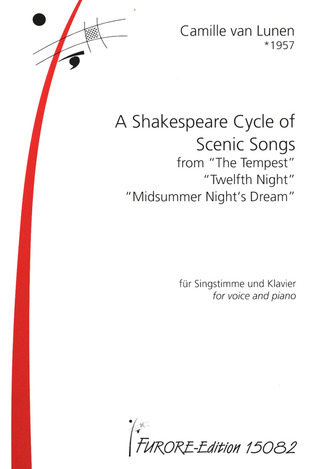 Camille van Lunen: A Shakespeare Cycle of Scenic Songs