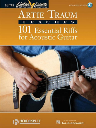 Artie Traum: 101 Essential Riffs for Acoustic Guitar