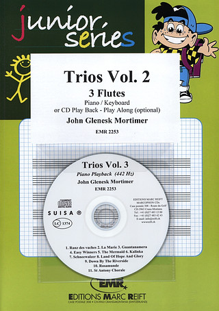 John Glenesk Mortimer: Trios Vol. 2 + CD