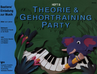 James Bastien: Piano Party B - Theorie Gehoertraining