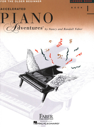Randall Faber et al.: Accelerated Piano Adventures 1 – Lesson