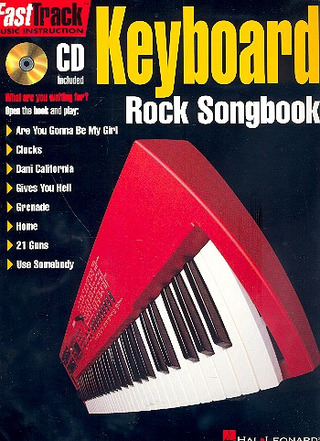 FastTrack Keyboard – Rock Songbook
