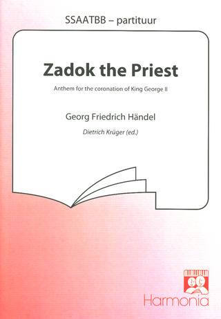 George Frideric Handel: Zodak The Priest - Anthem Gch Orch