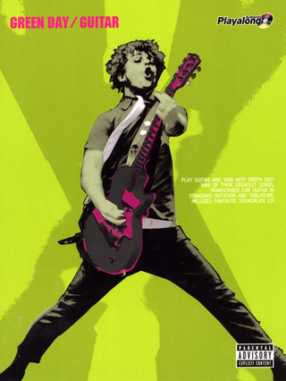Green Day: Green Day - Authentic Guitar Playalong/CD