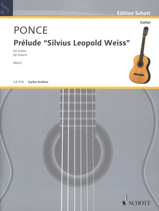 "Manuel María Ponce: Prélude ""Silvius Leopold Weiss"""