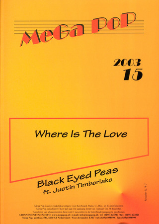 Black Eyed Peas: Where Is The Love