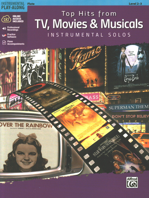Movies /& Musicals Instrumental Solos: Trumpet Book /& CD Top Hits from Tv Top Hits Instrumental Solos