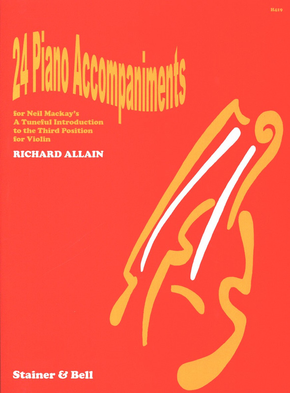 Allain Richard: 24 Piano Accompaniments