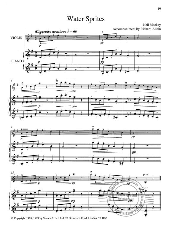 Allain Richard: 24 Piano Accompaniments (3)
