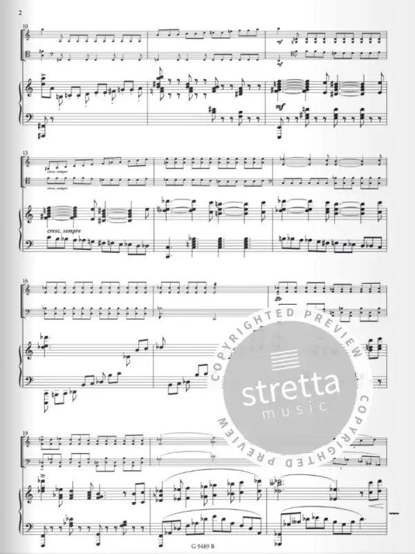 für Klavier Violine und Violoncello Trio in cis-moll Op.33 Kiel