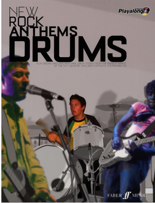 Fleming, Tom: New Rock Anthems - Drums Book / Cd