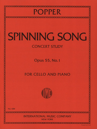 David Popper: Spinning Song Op 55/1