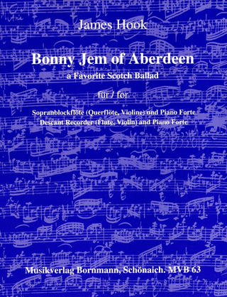 James Hook: Bonny Jem of Aberdeen