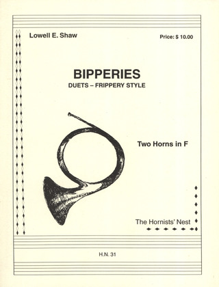 Lowell E. Shaw: Bipperies Duets - Frippery Style