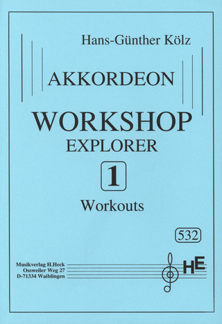 Hans-Günther Kölz: Workshop Zu Explorer 1
