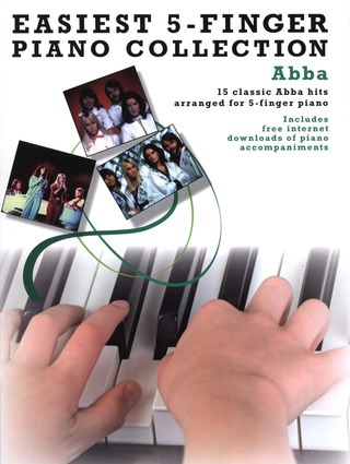 ABBA: Easiest 5-Finger Piano Collection: Abba