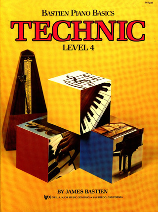 James Bastien: Bastien Piano Basics – Technic 4