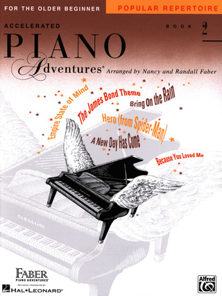 Randall Faber: Accelerated Piano Adventures 2 – Popular Repertoire