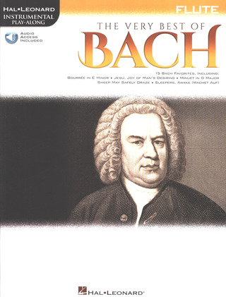 Johann Sebastian Bach: Hal Leonard Instrumental Play-Along: The Very Best of Bach – Flute