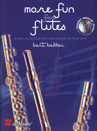 Bart Bakker: More Fun for Flutes