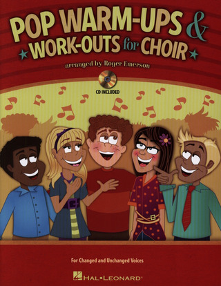 Roger Emerson: Roger Emerson: Pop Warm-ups & Work-outs For Choir