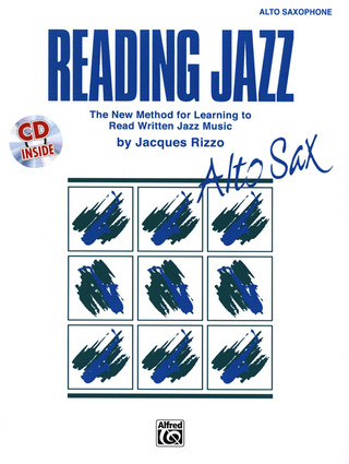 Jacques Rizzo: Reading Jazz – Alto Sax