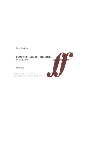 John Jenkins: Consort Music For Viols In Six Parts
