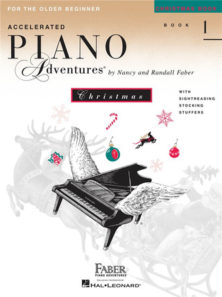 Accelerated Piano Adventures 1 – Christmas