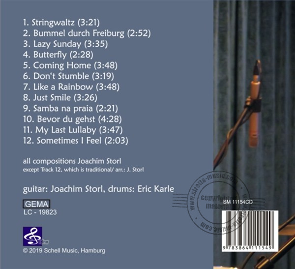 Joachim Storl: Fingerstyle Collection - CD (1)