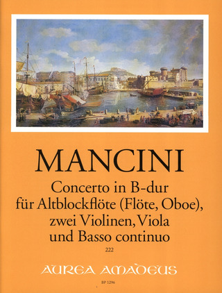 Francesco Mancini: Concerto in B-Dur