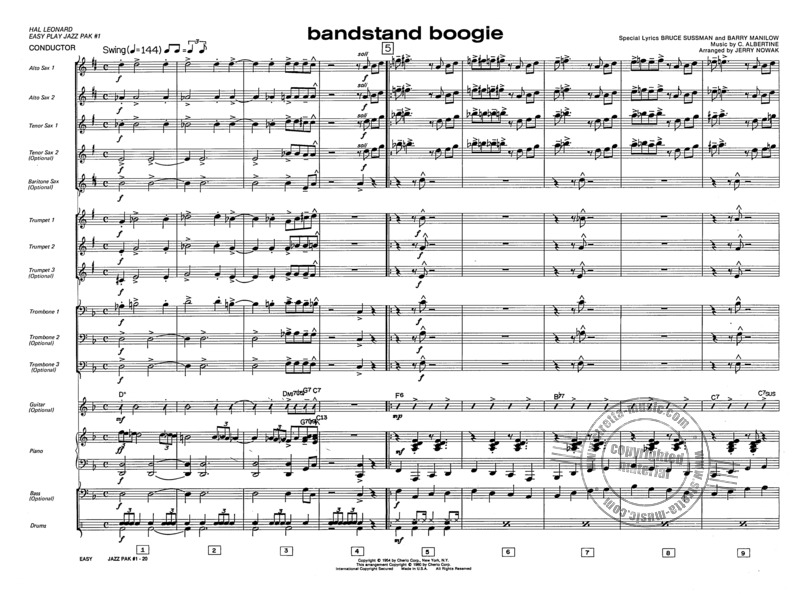 Easy Jazz Ensemble Pak #1 (2)